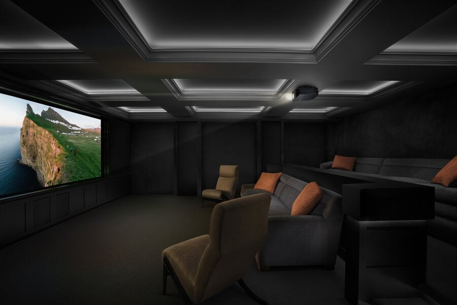 The Ultimate in Custom Home Theaters