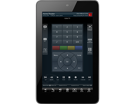 ipad remote theater control